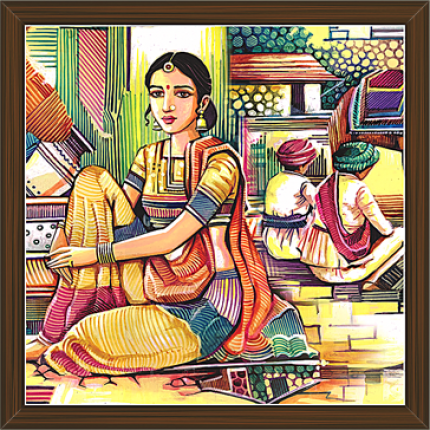 Rajasthani Paintings (RS-2639)