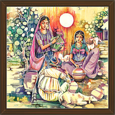 Rajasthani Paintings (RS-2644)