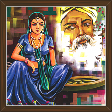 Rajasthani Paintings (RS-2645)