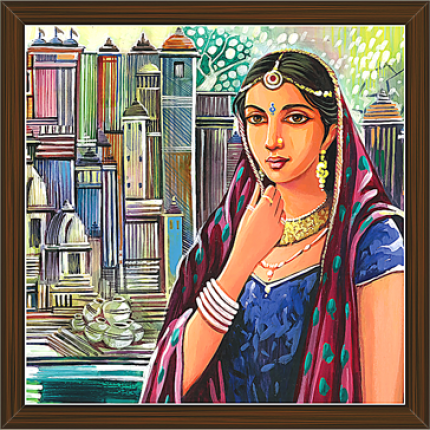 Rajasthani Paintings (RS-2648)