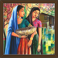 Rajasthani Paintings (RS-2650)