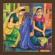 Rajasthani Paintings (RS-2651)