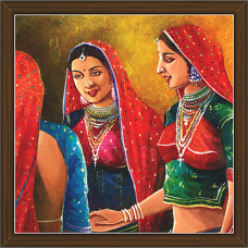 Rajasthani Paintings (RS-2653)