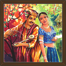 Rajasthani Paintings (RS-2663)