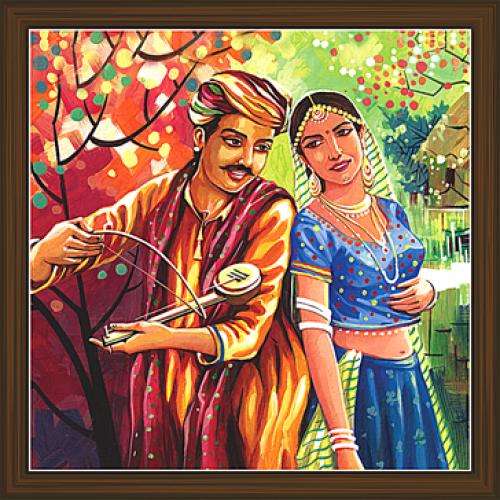 Rajasthani Paintings RS 2663
