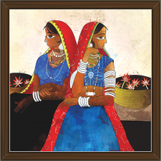 Rajasthani Paintings (RS-2664)