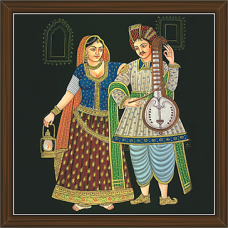 Rajasthani Paintings (RS-2665)