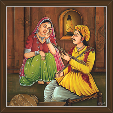 Rajasthani Paintings (RS-2668)