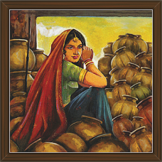 Rajasthani Paintings (RS-2669)
