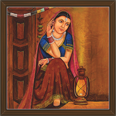 Rajasthani Paintings (RS-2670)