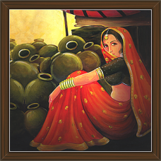Rajasthani Paintings (RS-2671)