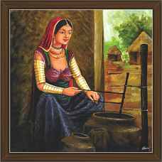 Rajasthani Paintings (RS-2672)