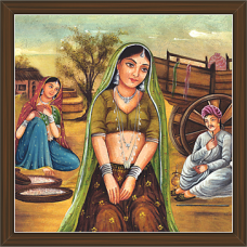Rajasthani Paintings (RS-2674)