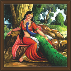 Rajasthani Paintings (RS-2677)