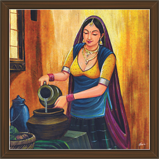 Rajasthani Paintings (RS-2679)