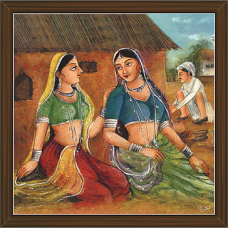 Rajasthani Paintings (RS-2680)