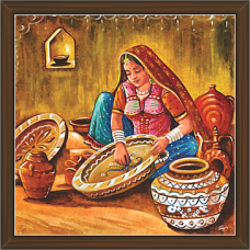 Rajasthani Paintings (RS-2681)