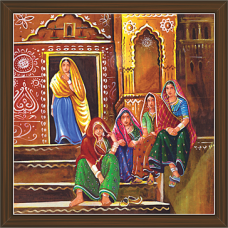 Rajasthani Paintings (RS-2682)