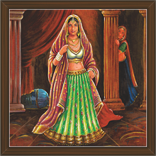 Rajasthani Paintings (RS-2683)