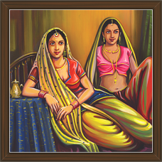 Rajasthani Paintings (RS-2684)