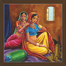 Rajasthani Paintings (RS-2691)