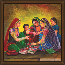 Rajasthani Paintings (RS-2693)