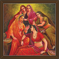 Rajasthani Paintings (RS-2695)
