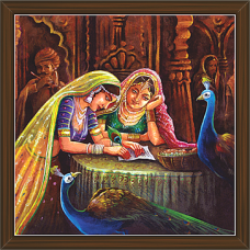 Rajasthani Paintings (RS-2697)