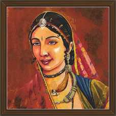 Rajasthani Paintings (RS-2698)