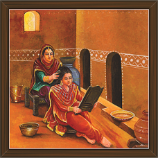 Rajasthani Paintings (RS-2700)