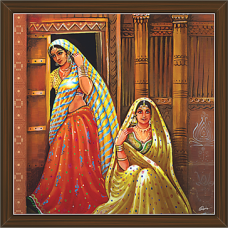 Rajasthani Paintings (RS-2701)