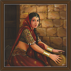 Rajasthani Paintings (RS-2704)
