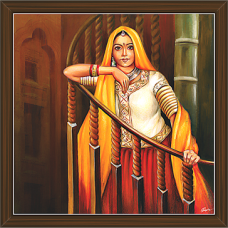 Rajasthani Paintings (RS-2705)