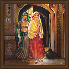 Rajasthani Paintings (RS-2706)
