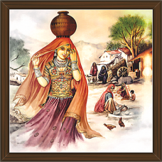 Rajasthani Paintings (RS-2707)