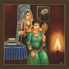 Rajasthani Paintings (RS-2708)