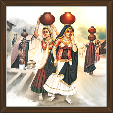 Rajasthani Paintings (RS-2710)