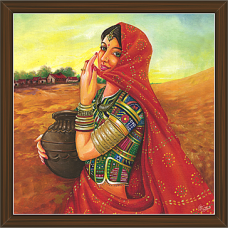 Rajasthani Paintings (RS-2714)