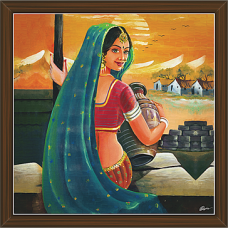 Rajasthani Paintings (RS-2715)