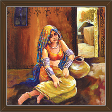 Rajasthani Paintings (RS-2716)