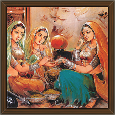 Rajasthani Paintings (RS-2722)