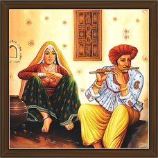 Rajasthani Paintings (RS-2724)