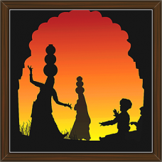 Rajasthani Paintings (RS-2749)