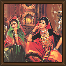 Rajasthani Paintings (RS-2750)
