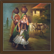 Rajasthani Paintings (RS-2757)