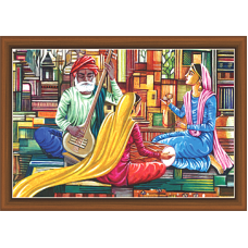 Rajsthani Paintings (R-9793)