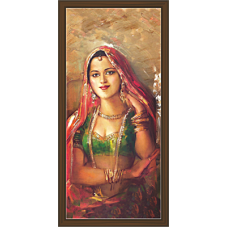 Rajsthani Paintings (RV-2615)