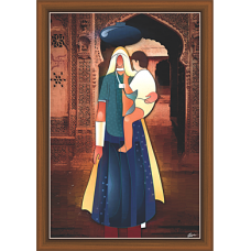 Rajsthani Paintings (R-9502)