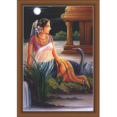 Rajsthani Paintings (R-9503)