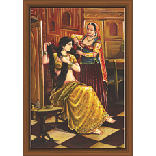 Rajsthani Paintings (R-9504)